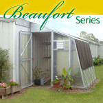 Beaufort Series Lean-To Greenhouse (7' wide)
