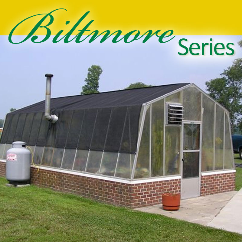 Biltmore Series 14' wide Greenhouse