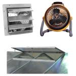 Greenhouse Ventilation & Circulation