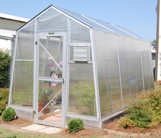 how to clean a fiberglass greenhouse